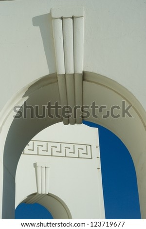 Griffith observatory architecture,Los Angeles - stock photo