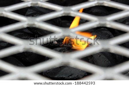 grill file - stock photo