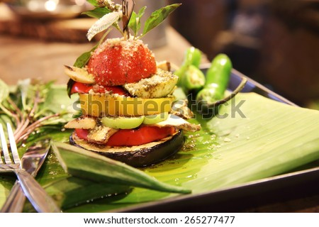 Grill vegetable  - stock photo