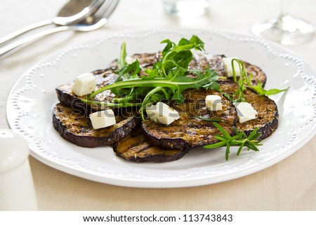 Aubergine Salad Stock Photos, Images, & Pictures | Shutterstock