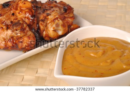 Grilled Chicken With Nectarine Barbecue Sauce Recipes — Dishmaps