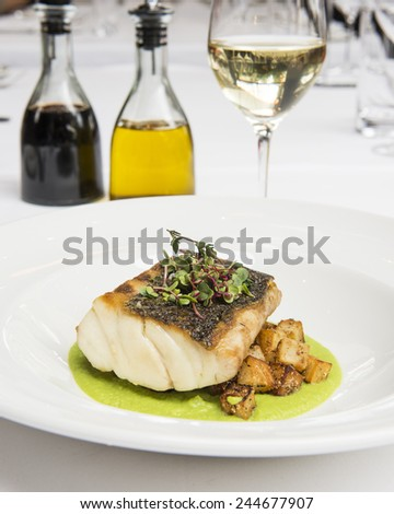 Grilled Fish Fillet  - stock photo
