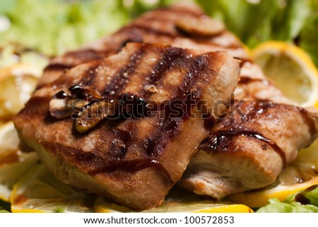 ... tuna steaks recept yummly grilled tuna steaks recipe yummly tuna steak