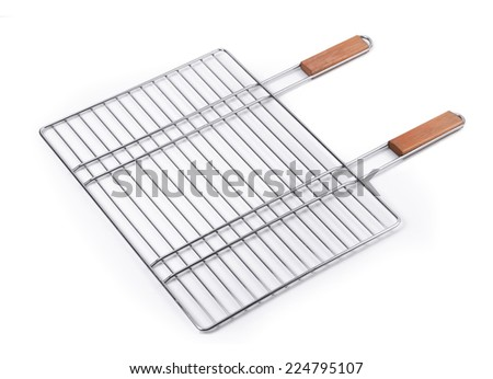 Grilling Basket - stock photo