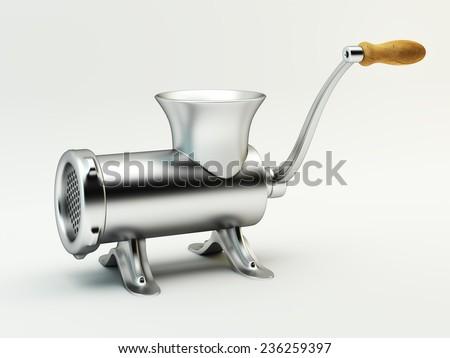 Grinder on white background - stock photo