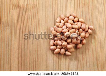 ground nut - stock photo