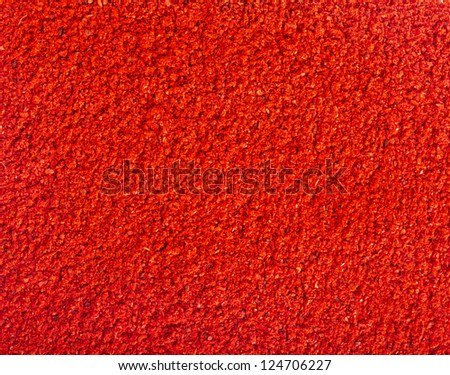 ground paprika background texture surface top view - stock photo