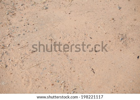 Ground, pebble stone  - stock photo