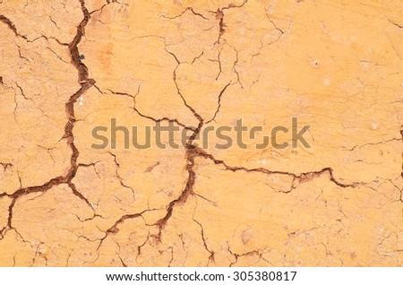 Ground rupture - stock photo