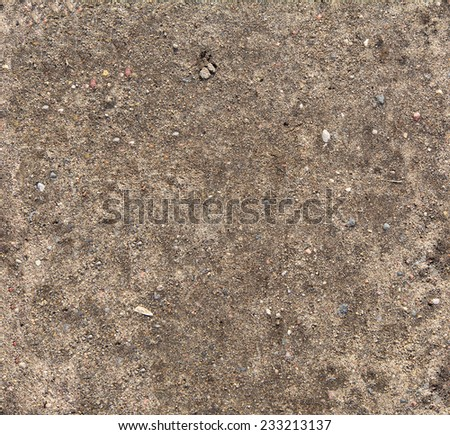 Ground seamless textured surface background under bright sunlight / closeup texture - stock photo