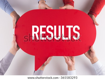Group of People Message Talking Communication RESULTS Concept - stock photo
