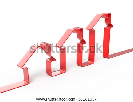 grow home sales - stock photo