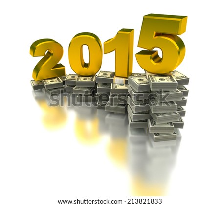 Growing Economy 2015 - stock photo