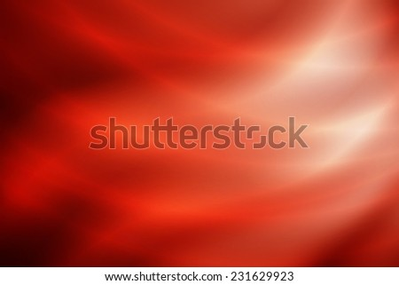 growing white to red gradient wave abstract background with curve line - stock photo