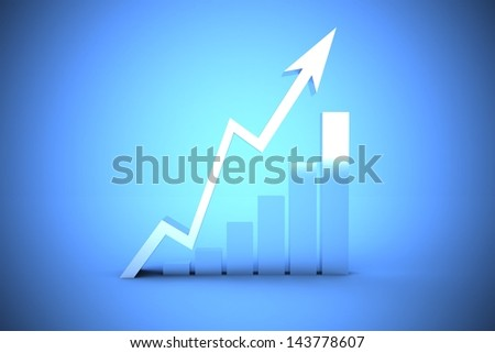 growth and profit concept - stock photo