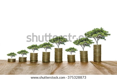 growth for business - stock photo