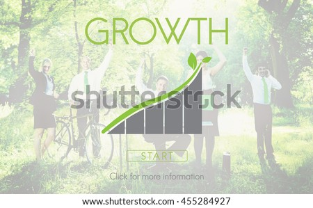 Growth Green Environment Ecology Concept - stock photo
