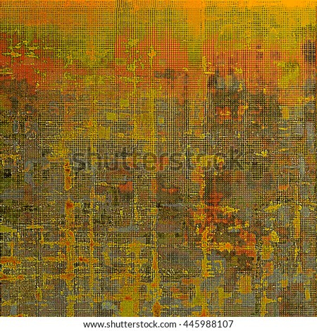 Grunge abstract textured background, aged backdrop with different color patterns: yellow (beige); brown; gray; green; red (orange) - stock photo