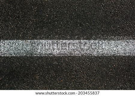 grunge asphalt road texture - stock photo