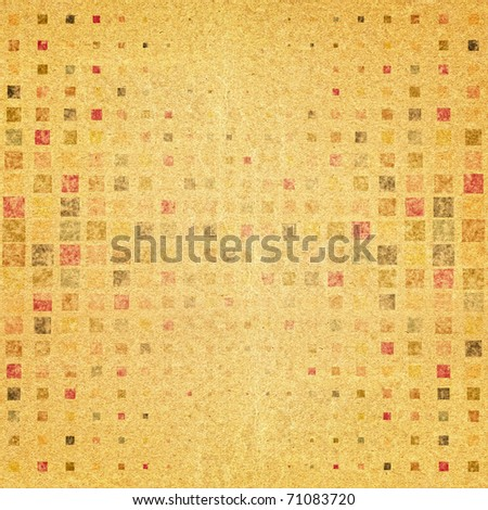 Grunge background from points - stock photo