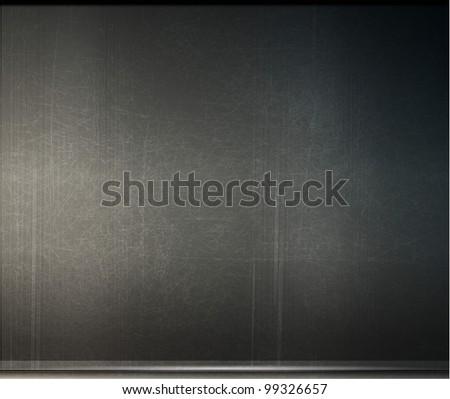 grunge background metal plate with screws eps 10  - vector version in portfolio - stock photo