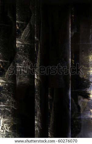 Grunge background of metal - stock photo