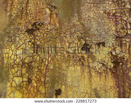 Grunge background of rust and corrosion. - stock photo