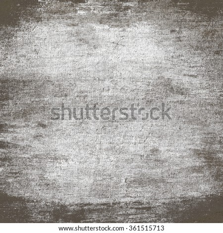 grunge background old canvas texture background - stock photo