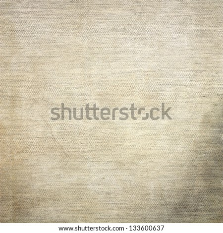 grunge background, old canvas texture, old dirty paper texture and stains - stock photo