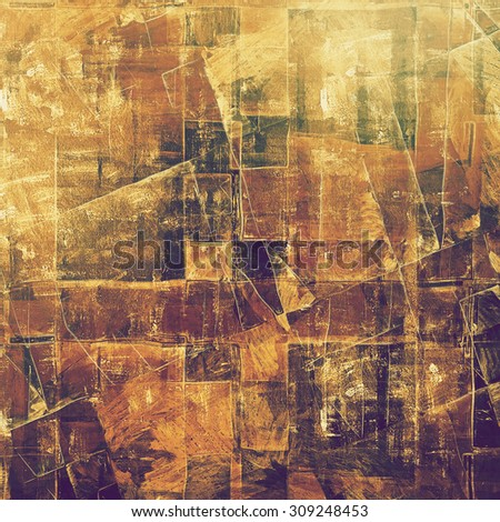 Grunge background or texture for your design. With different color patterns: yellow (beige); brown; gray; purple (violet) - stock photo