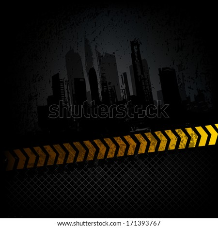 Grunge background. Raster copy - stock photo