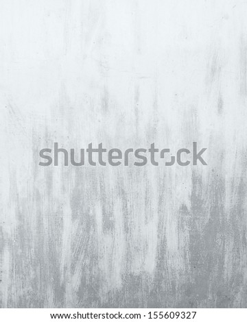grunge background white wall texture - stock photo