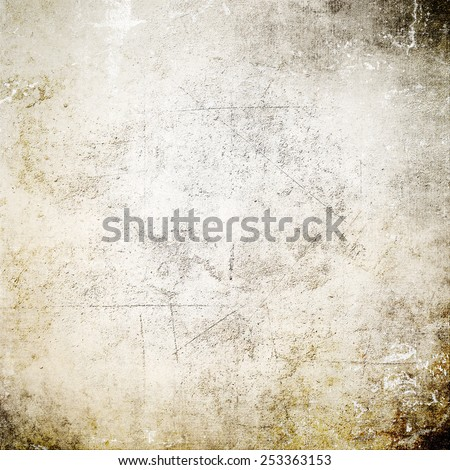 Grunge background with scratches - stock photo