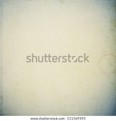 grunge beige paper texture, distressed background - stock photo