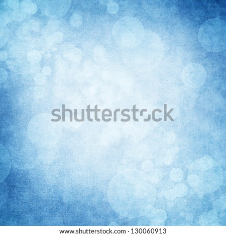 Grunge blue background - stock photo