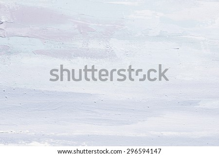 Grunge blue  background. Oil painting on canvas. Violet  texture. Fragment of artwork. Spot of oil paint. Brushstrokes of paint. Modern art. Contemporary art. - stock photo