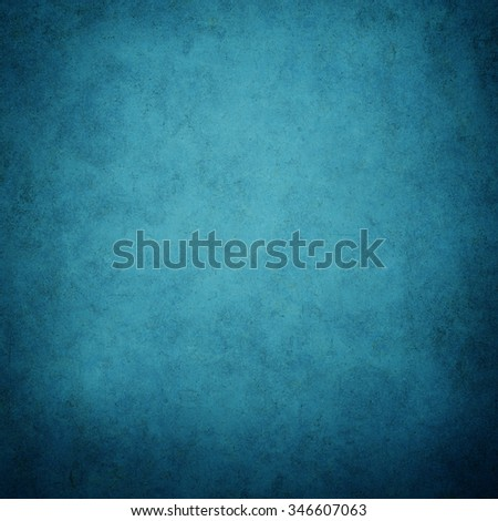 Grunge blue texture or background with Dirty or aging, space for text. - stock photo