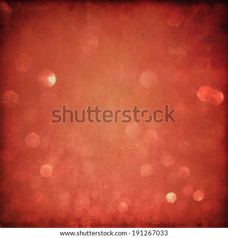 Grunge Bokeh Lights background - stock photo