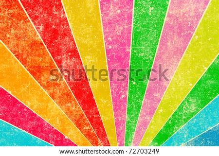 Grunge bright colorful background - stock photo