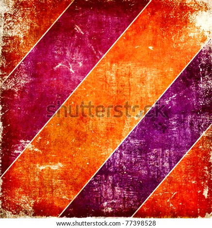 Grunge bright stripes background - stock photo
