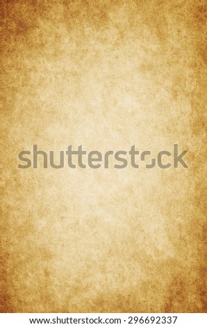 Grunge brown background with space for text, Old paper. - stock photo