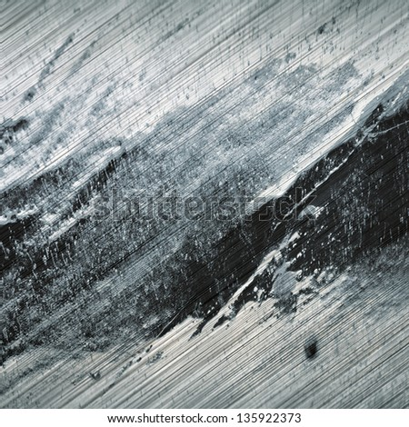 grunge brushed stained texture - stock photo