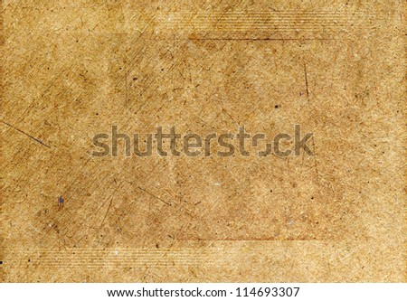 grunge cardboard background textured - stock photo