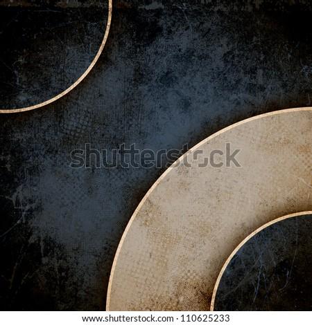 Grunge circles background - stock photo