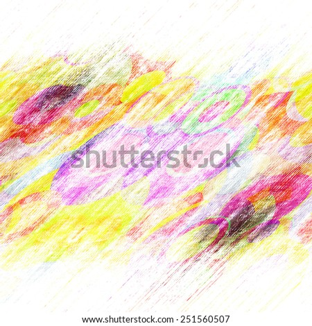 grunge circles on the wall, abstract background  - stock photo