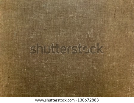 grunge cloth texture. old book cover. - stock photo
