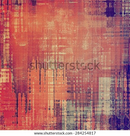 Grunge colorful background. With different color patterns: yellow (beige); brown; red (orange); purple (violet) - stock photo