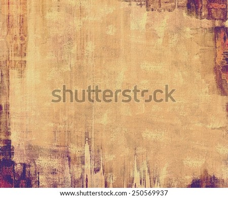 Grunge colorful texture for retro background. With different color patterns: yellow (beige); brown; red (orange); purple (violet) - stock photo