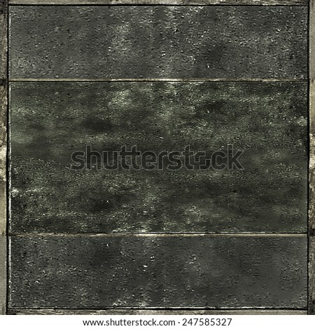 Grunge concrete texture background geometric structure in gray tones - stock photo