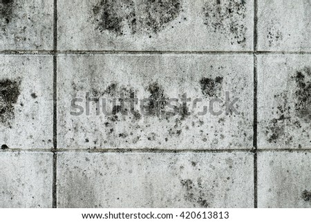 Grunge Concrete Wall / Grunge Concrete Cement Wall Texture Background - stock photo